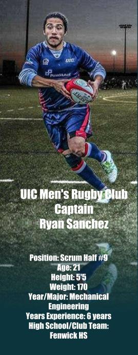 UIC Men's Rugby - Ryan Sanchez